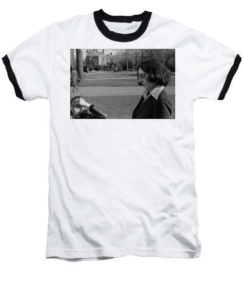 Brown University Student And His Mother, 1975 Baseball T-Shirt