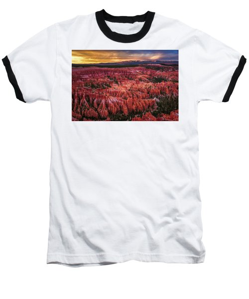 Bryce Canyon In The Glow Of Sunset Baseball T-Shirt