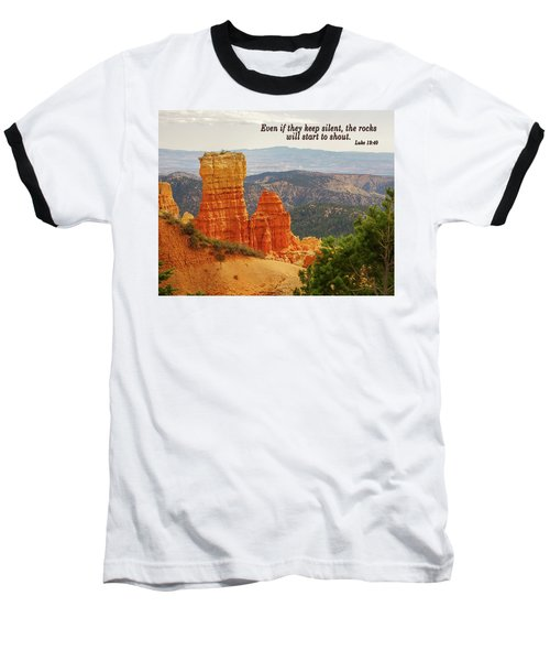 Baseball T-Shirt featuring the photograph Bryce Canyon by Jim Mathis