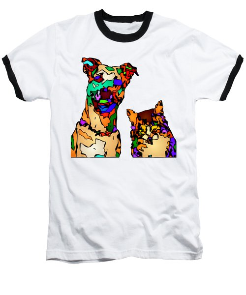 Buddies For Life. Pet Series Baseball T-Shirt