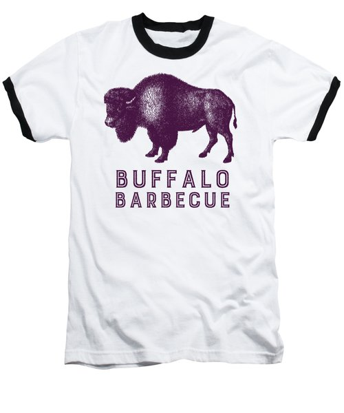 Buffalo Barbecue Baseball T-Shirt