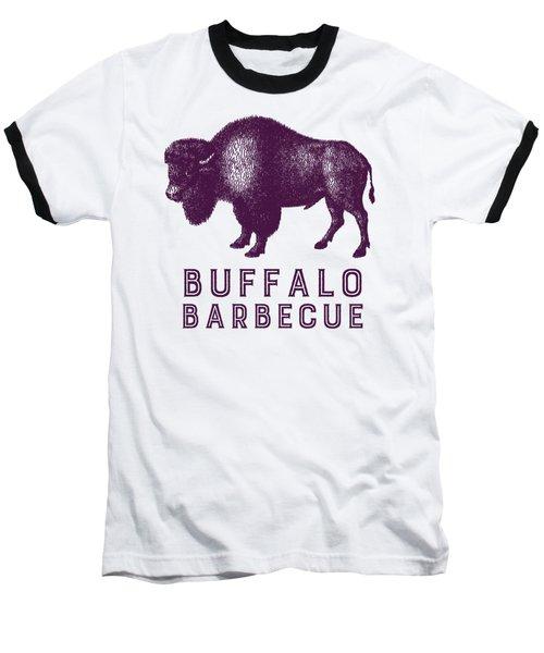 Buffalo Barbecue Baseball T-Shirt