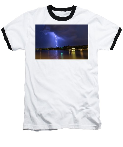 Buffalo Springs Lightning 3 Baseball T-Shirt