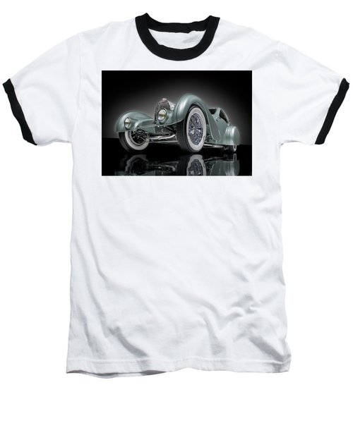 Bugatti Aerolithe Recreation Baseball T-Shirt
