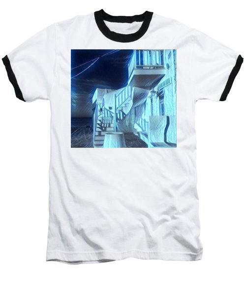 Building At Harbour  Baseball T-Shirt