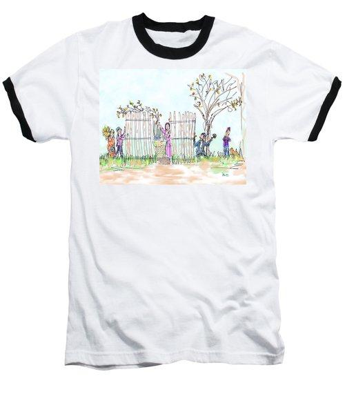 Building The Sukkot Baseball T-Shirt