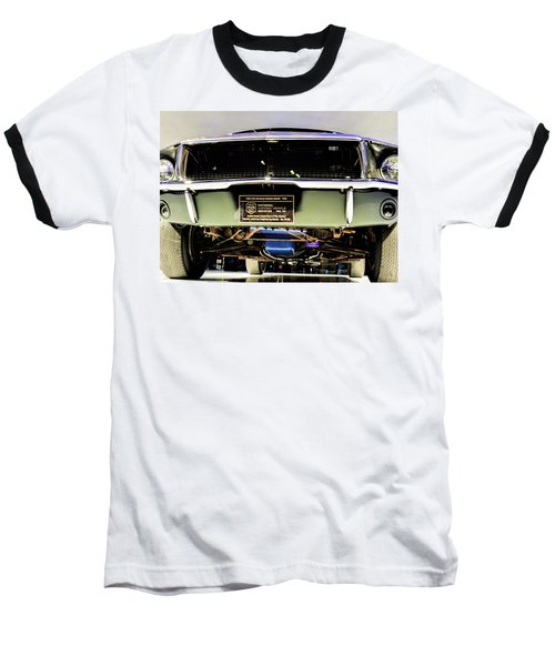Bulitt Front View Baseball T-Shirt