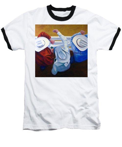 Bull Chute Baseball T-Shirt