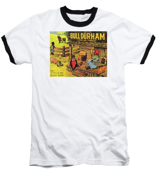 Baseball T-Shirt featuring the digital art Bull Durham My It Shure Am Sweet Tastan by ReInVintaged