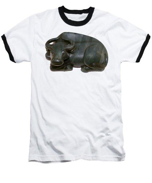 Bull Figure Baseball T-Shirt