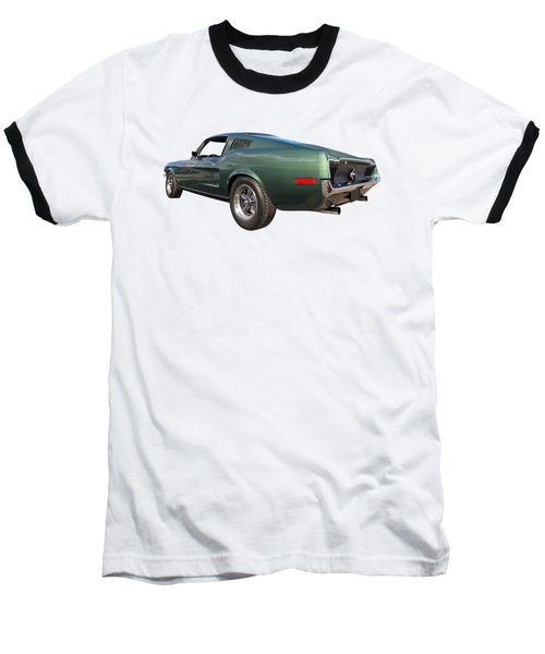Baseball T-Shirt featuring the photograph Bullitt - 1968 Mustang Fastback by Gill Billington