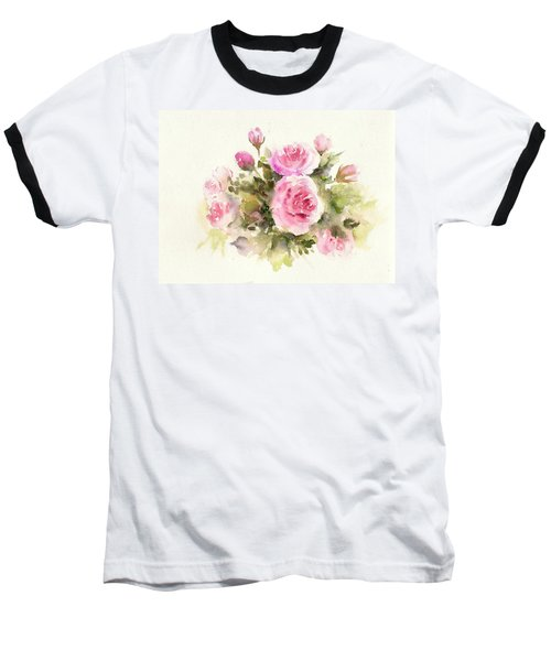 Bunch Of Roses Baseball T-Shirt
