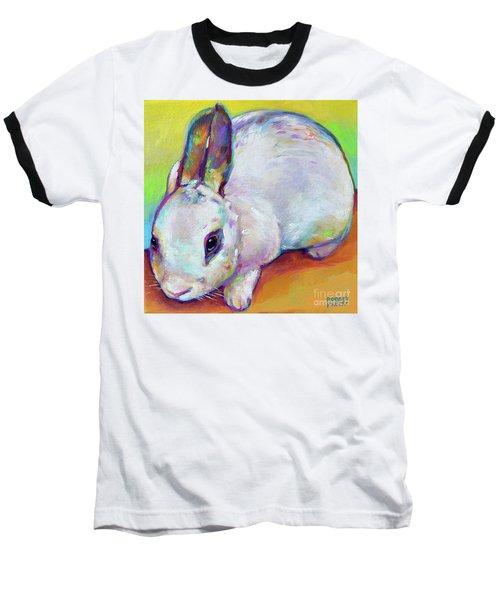 Bunny Baseball T-Shirt by Robert Phelps
