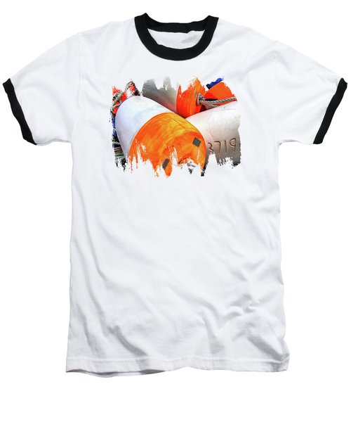 Buoy 3719 Baseball T-Shirt by Thom Zehrfeld