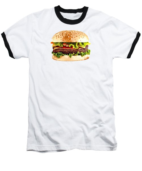 Burger Sndwich Hamburger Baseball T-Shirt
