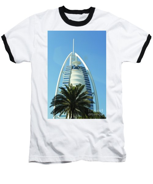 Burj Al Arab Baseball T-Shirt