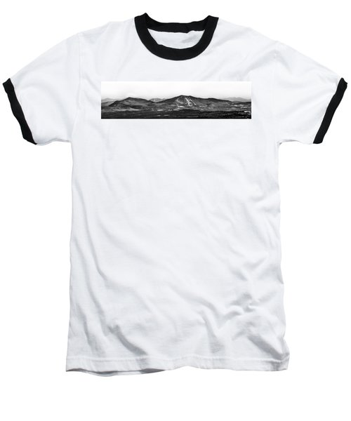 Burke And Cannon Wide Panoramic Baseball T-Shirt