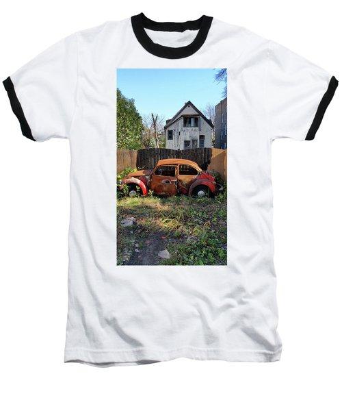 Burned Bug V Baseball T-Shirt