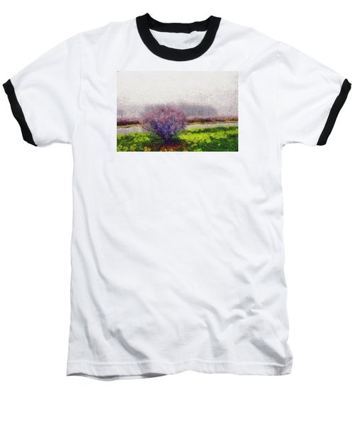 Baseball T-Shirt featuring the photograph Burning Bush by Spyder Webb