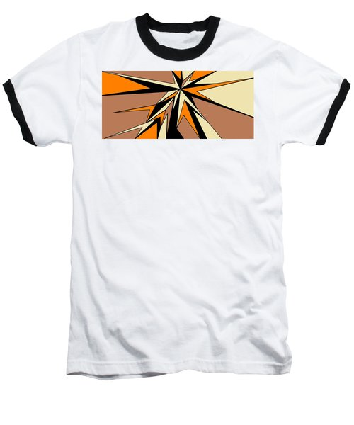Burst Of Orange 2 Baseball T-Shirt