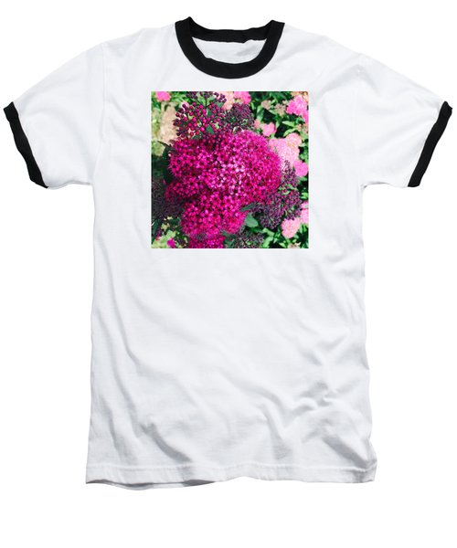 Burst Of Pink Delight Baseball T-Shirt