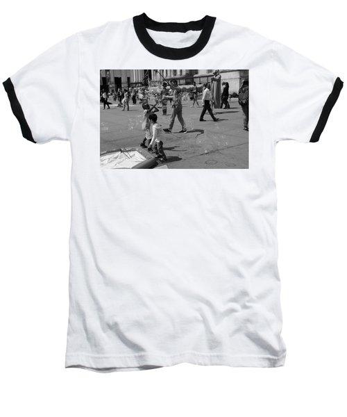 Burst Your Bubble Baseball T-Shirt
