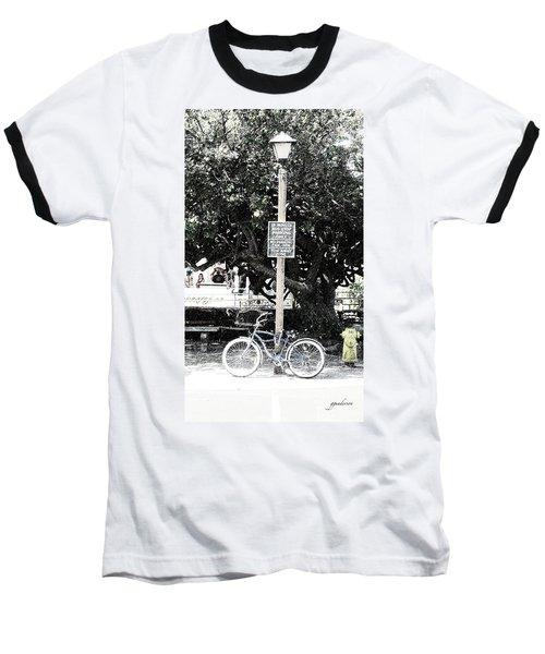 Bus Stop Baseball T-Shirt