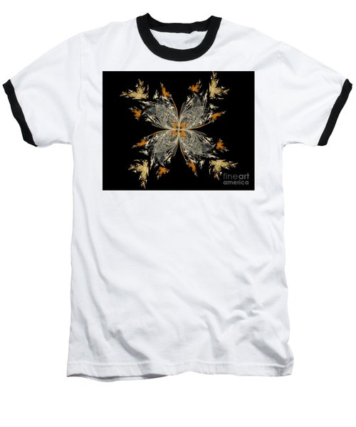 butterfly - Digital Art Baseball T-Shirt