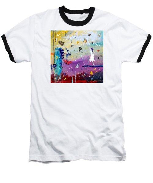 Butterflies And Me Baseball T-Shirt