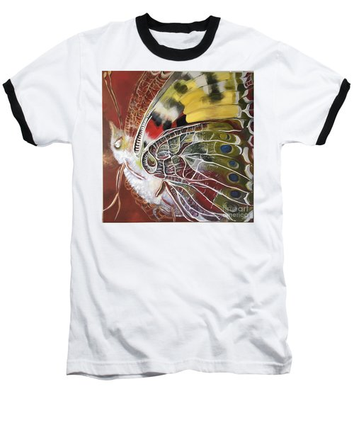 Butterfly Artbox Project 1 Basel Baseball T-Shirt