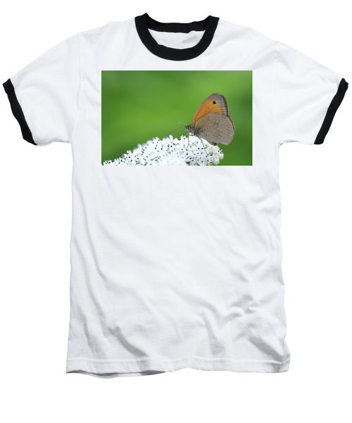 Baseball T-Shirt featuring the photograph Butterfly by Bess Hamiti