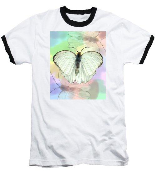 Butterfly, Butterfly Baseball T-Shirt by Rosalie Scanlon