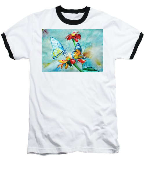 Butterfly Dance Baseball T-Shirt