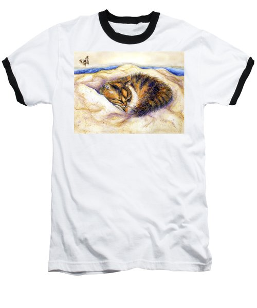 Butterfly Dreams Baseball T-Shirt