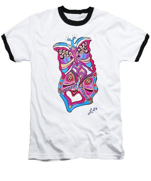 Butterfly Totem Baseball T-Shirt