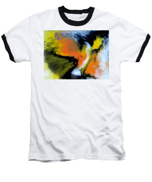 Butterfly Wings Baseball T-Shirt by Mary Kay Holladay