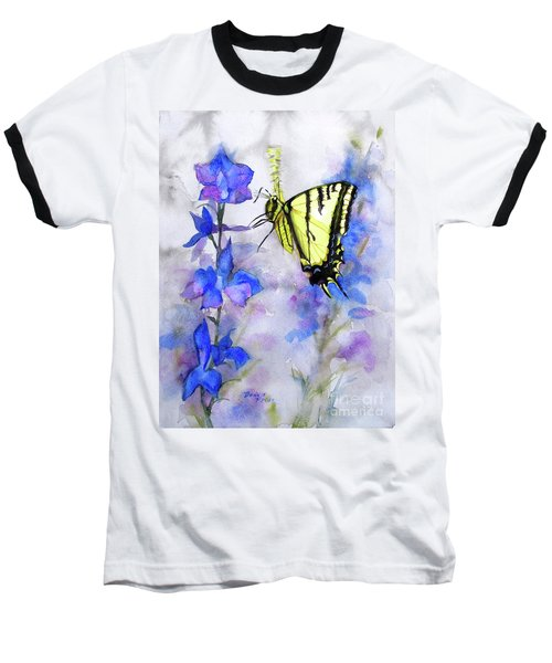 Butteryfly Delight Baseball T-Shirt