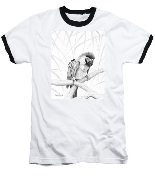 Bw Parrot Baseball T-Shirt