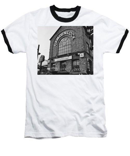 Bw Series Camden Lock Market Baseball T-Shirt
