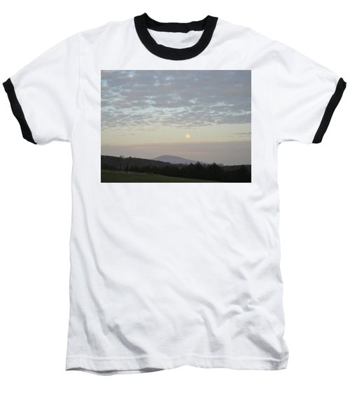 By The Rising Of The Moon Baseball T-Shirt by Suzanne Oesterling