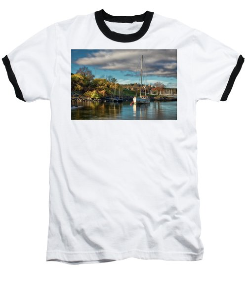 Bygdoy Harbor Baseball T-Shirt