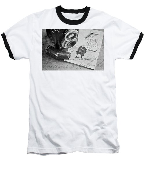 Bygone Memories Baseball T-Shirt by Patrice Zinck