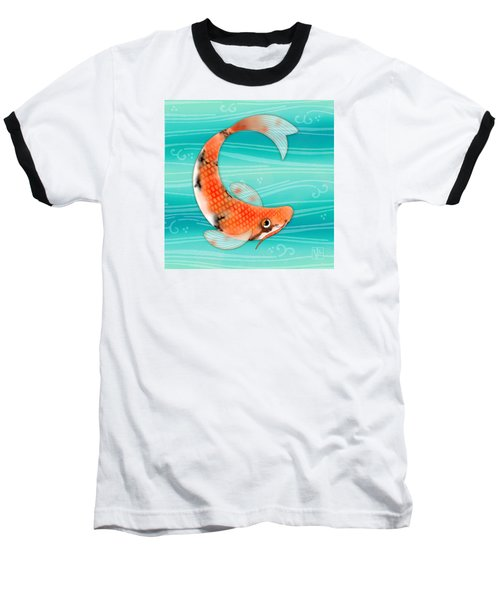 C Is For Cal The Curious Carp Baseball T-Shirt