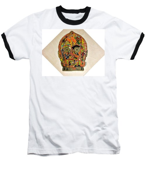 C3po Star Wars Afrofuturist Collection Baseball T-Shirt