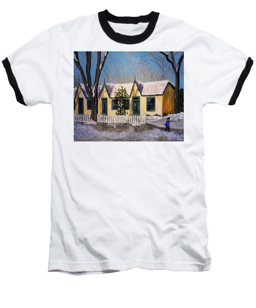 Cabbagetown Christmas Baseball T-Shirt