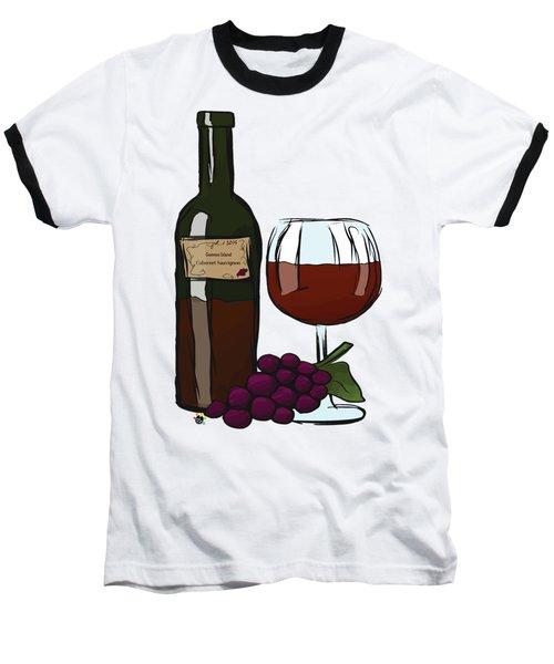 Cabernet Sauvignon Baseball T-Shirt