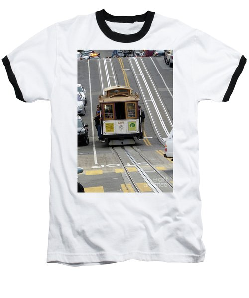 Cable Car Baseball T-Shirt