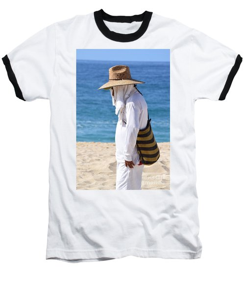 Cabo Beach Hawker. Baseball T-Shirt