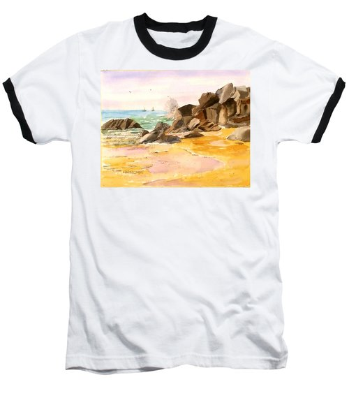 Cabo San Lucas Baseball T-Shirt by Larry Hamilton