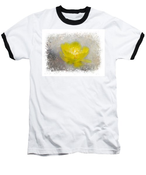 Cactus Flower Baseball T-Shirt